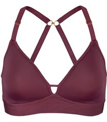 women's lively the spacer t-shirt bra, size 32a - purple
