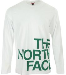 t-shirt lange mouw the north face graphic flow ls