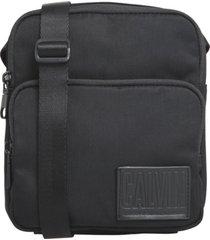 bolso  ckj nylon utility flatpack w/p calvin klein
