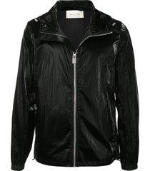 1017 alyx 9sm hooded zip-up jacket - black