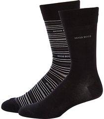 2-pack logo crew socks