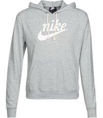 sweater nike w nsw gym vntg hoodie hbr