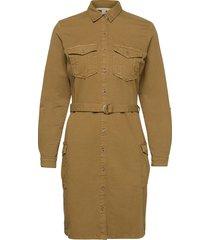 dresses woven kort klänning brun esprit casual