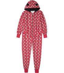 pigiama intero (rosso) - bpc bonprix collection