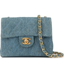 chanel pre-owned 1985-1993's quilted cc single chain shoulder bag -
