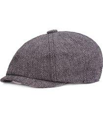 uomini cappello vintage ottagonale in cotoneberretto basco a viaggio a sacchi casual