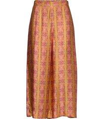 claudia pants wijde broek oranje odd molly