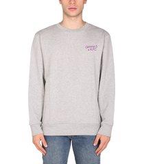 a.p.c. cotton jersey sweatshirt