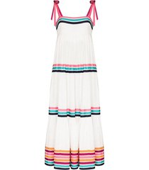 lulu tiered maxi dress