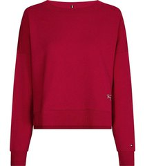sweater relaxed rood