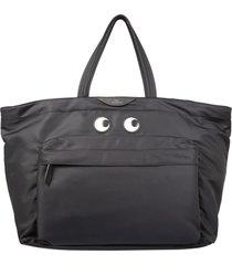 anya hindmarch large eyes tote bag