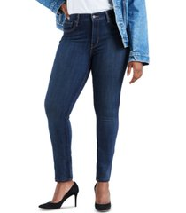 levi's women's 721 high-rise skinny jeans in long length