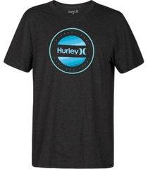 hurley men's circular logo t-shirt
