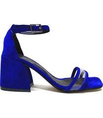 sandalia azul felmini babel