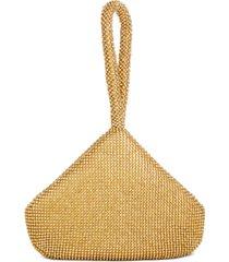inc doris sparkle mesh pouch, created for macy's