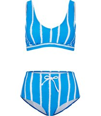 bikini a fascia (set 2 pezzi) (blu) - bodyflirt