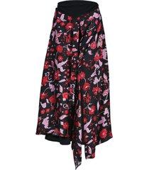 floral shock waves skirt