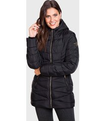 parka everlast garden negro - calce regular