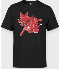 koszulka goku w czerwieni