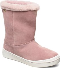 steg shoes boots ankle boots ankle boot - flat rosa kari traa