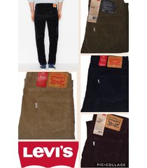 levi's men's 514 straight fit corduroy pants all sizes all colors