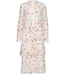 brush enola dress jurk knielengte wit bruuns bazaar