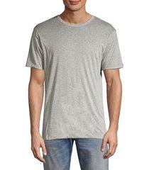 rag & bone men's reversible t-shirt - burgundy - size xs