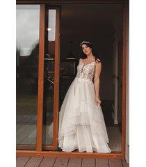 suknia ślubna ze spódnicą z organzy // kaya