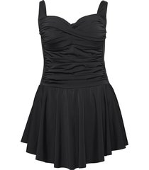 staylor, sp, swim dress badpak badkleding zwart zizzi