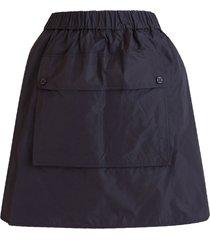 max mara taffeta and silk skirt