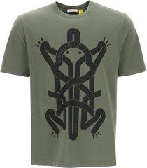 moncler genius 5 frog print t-shirt