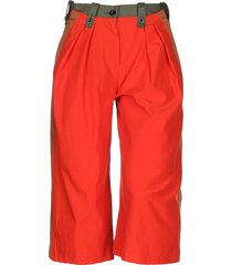 sacai cropped pants