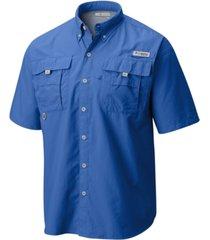 columbia men's big and tall pfg bahama ii short-sleeve shirt