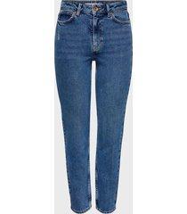 jeans jacqueline de yong denim azul - calce ajustado