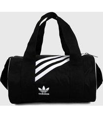 maletín negro-blanco adidas originals mini duffel bag
