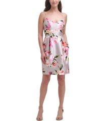 eliza j floral-print dress