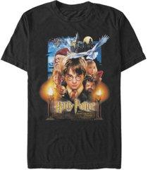 fifth sun men's sorcerers stone short sleeve crew t-shirt