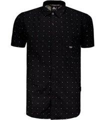 camisa starter geométrica masculina