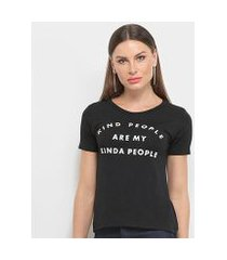 camiseta aura king people feminina