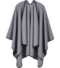 mantón de borla monocromático cálido y salvaje