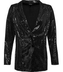 blazer di paillettes (nero) - bodyflirt