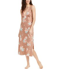 inc floral-print long nightgown, created for macy's
