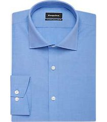 esquire french blue slim fit dress shirt