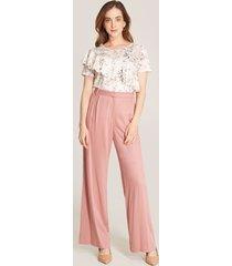 pantalón rosado amplio rosado 10