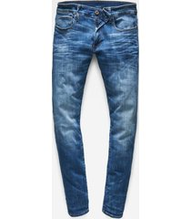jeans 3301 deconstructed skinny fit indigo aged (d01159-8968-6028)