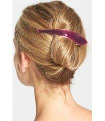 ficcare maximas silky hair clip, size medium - purple