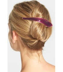 ficcare maximas silky hair clip, size medium - purple