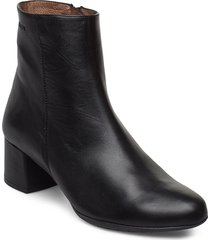 e-6401 shoes boots ankle boots ankle boot - heel svart wonders