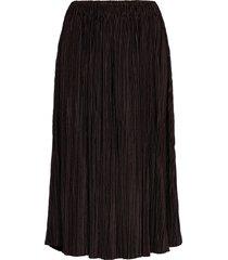 uma skirt 10167 knälång kjol svart samsøe samsøe