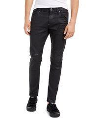 g-star raw men's elwood zip-knee skinny jeans, created for macy's